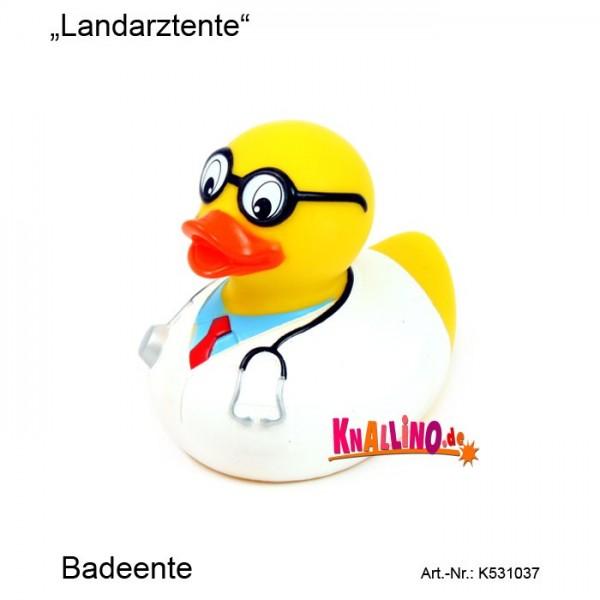 Landarztente Badeente