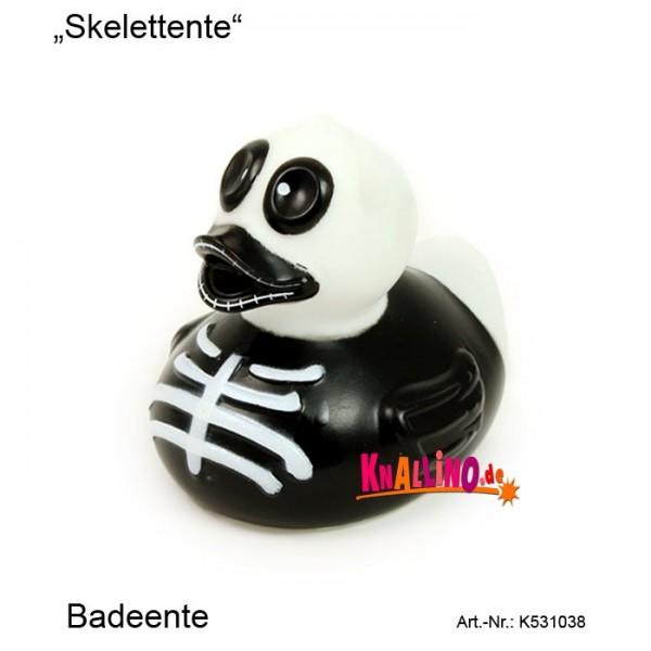 Skelettente Badeente