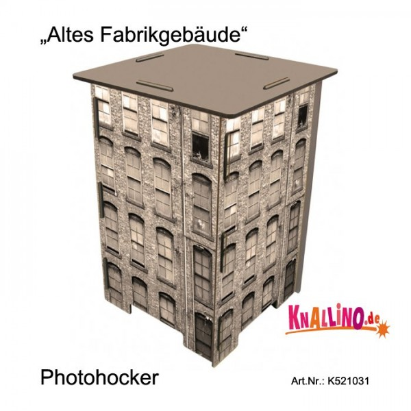 Altes Fabrikgebäude Photohocker