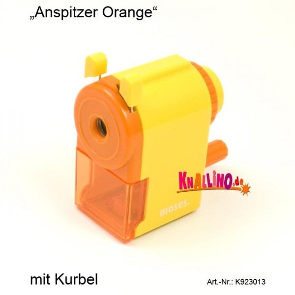 Anspitzer Orange mit Kurbel