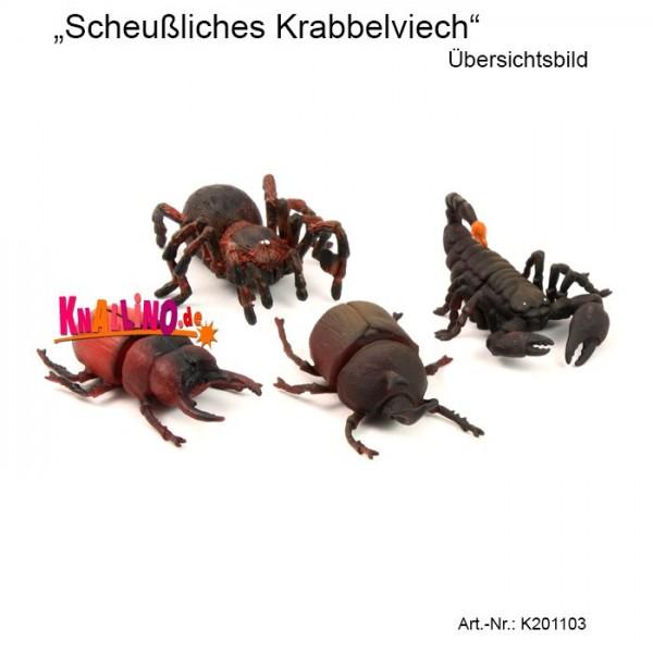 Scheußliches Krabbelviech Tierfigur