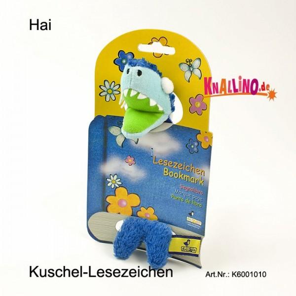Haifisch Kuschel-Lesezeichen