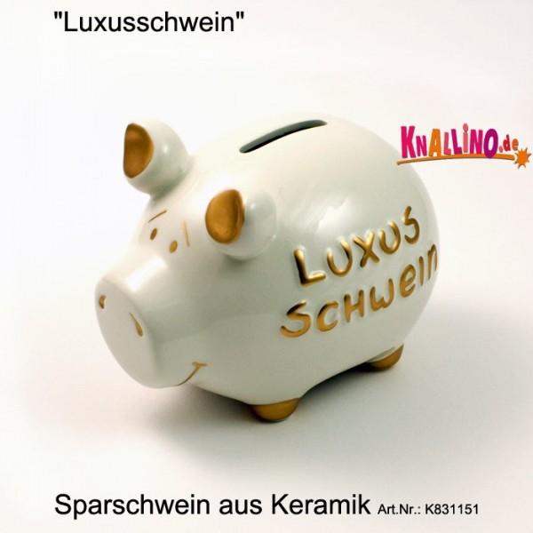 Luxusschwein Sparschwein