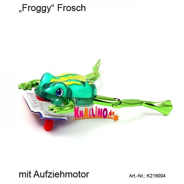 Z Wind Ups Froggy Frosch mit Aufziehmotor