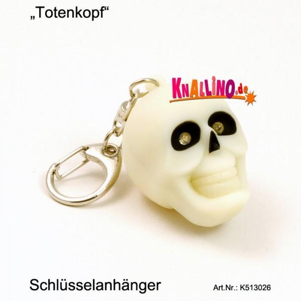 Totenkopf LED Schlüsselanhänger