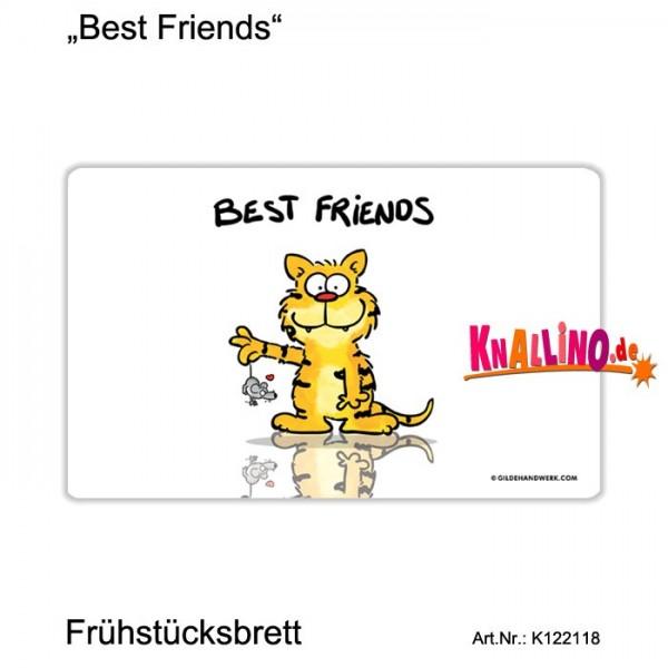 Best Friends Frühstücksbrett