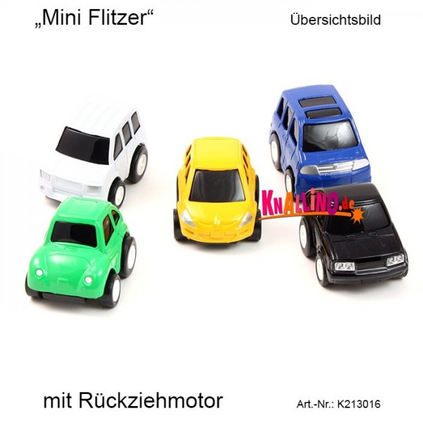 Mini Flitzer mit Rückziehmotor