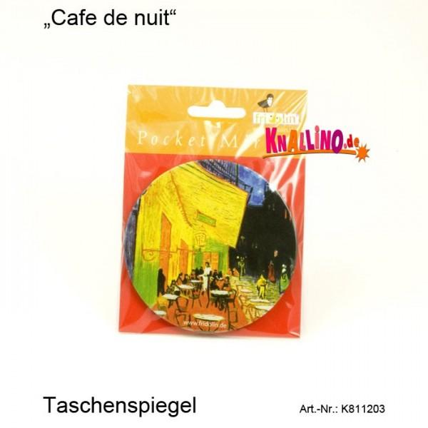 Cafe de nuit Taschenspiegel