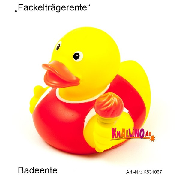 Fackelträgerente Badeente