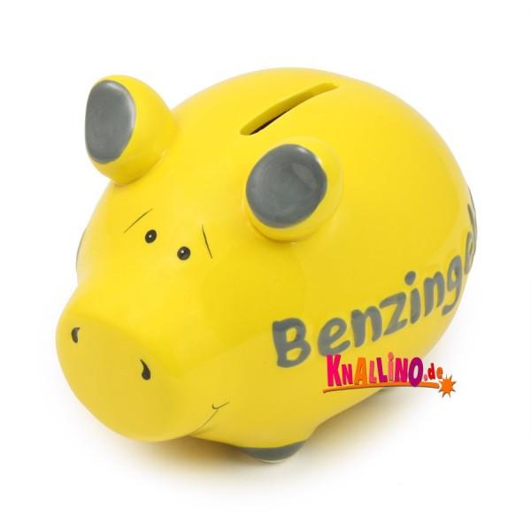 Benzingeld Sparschwein