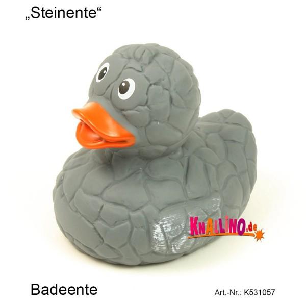 Steinente Badeente