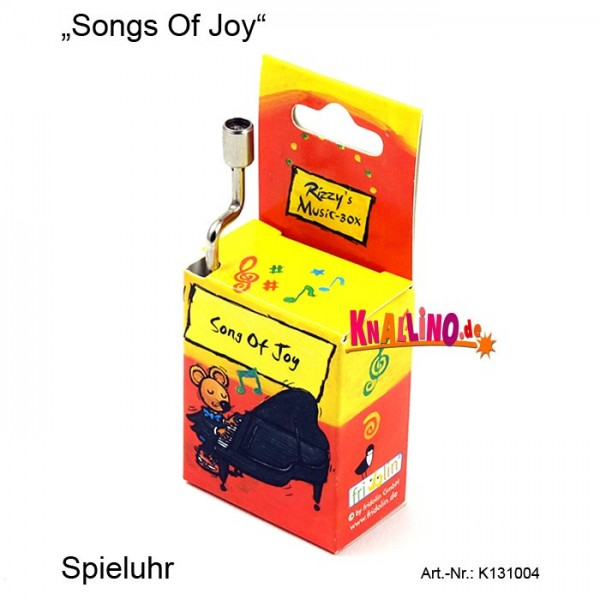 Songs Of Joy Rizzy's Music Box Spieluhr