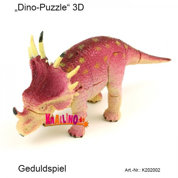Moses Dino-Puzzle 3D Geduldspiel