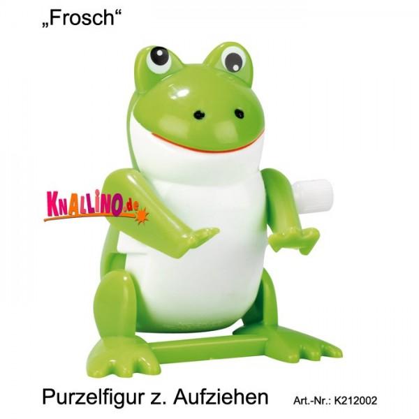 Frosch Purzelfigur zum Aufziehen