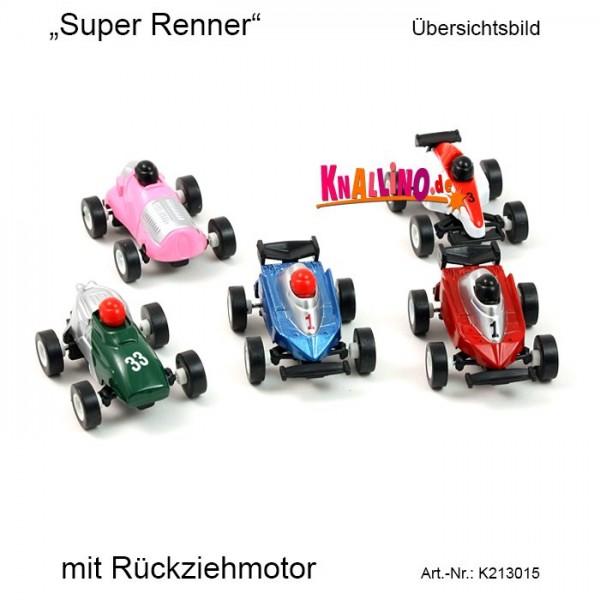 Super Renner mit Rückziehmotor