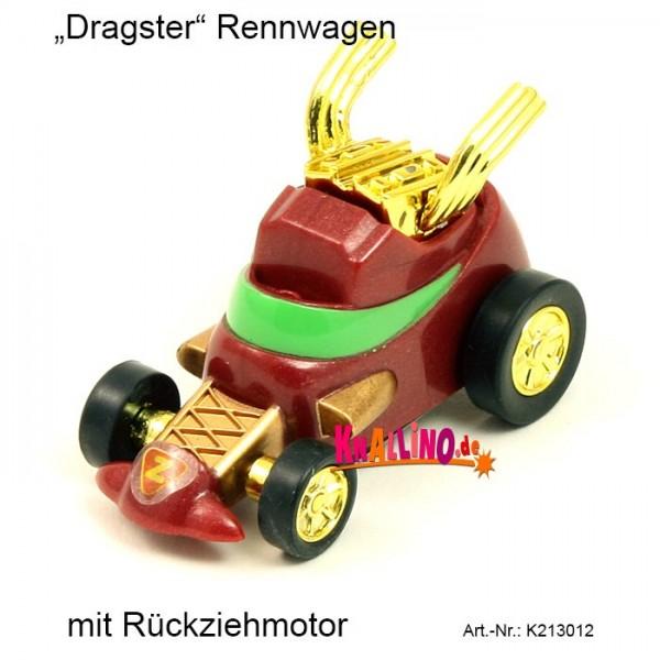 Z Wind Ups Dragster Rennwagen mit Rückziehmotor