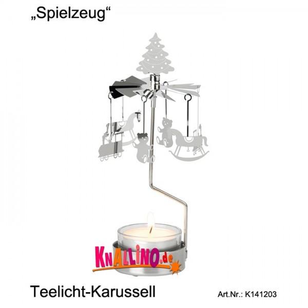 Spielzeug Teelicht-Karussell