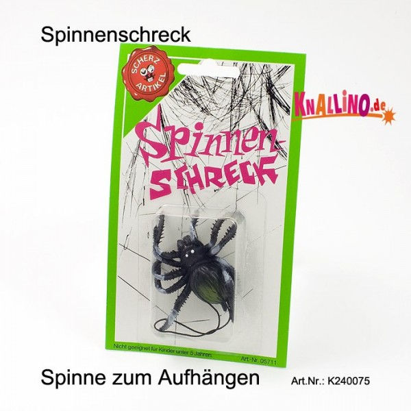 Spinnenschreck Scherzartikel