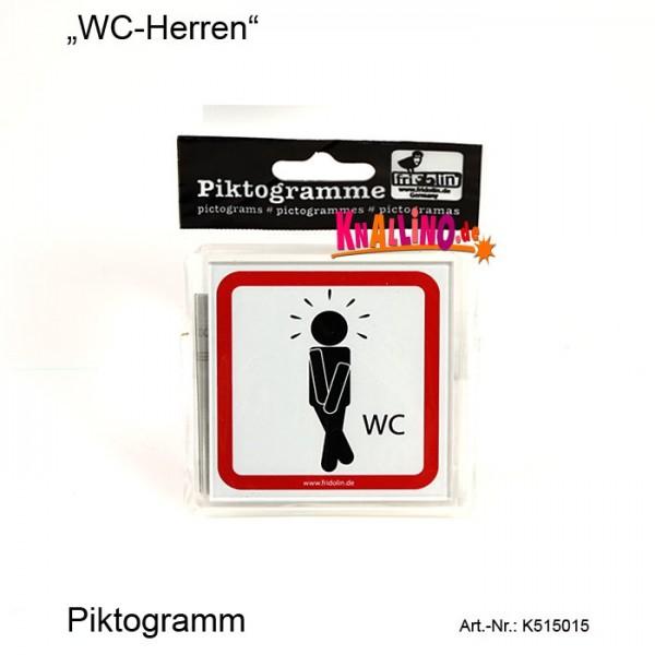 WC-Herren Piktogramm