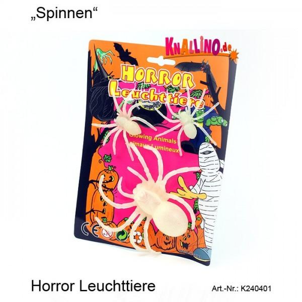 Spinnen Horror Leuchttiere Scherzartikel