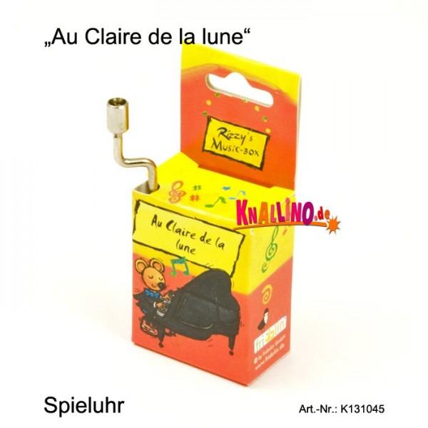 Au Claire de la lune Rizzy's Music Box Spieluhr