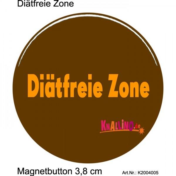 Diätfreie Zone Magnetbutton 3,8 cm