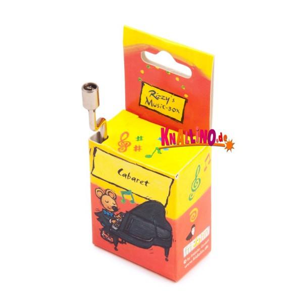 Rizzy's Music Box Cabaret Spieluhr