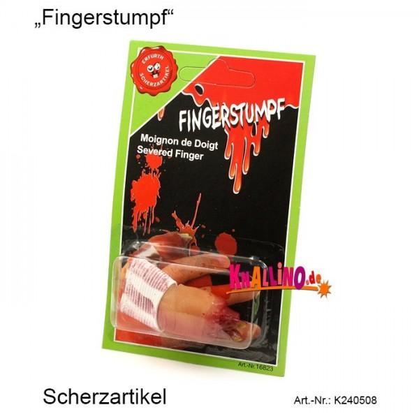 Fingerstumpf Scherzartikel