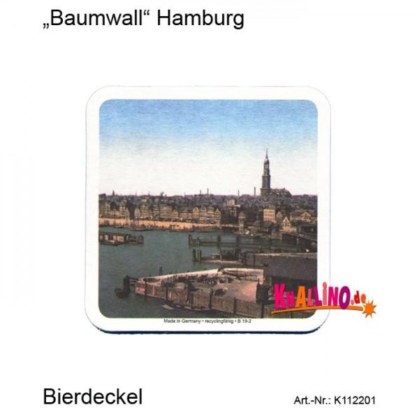 Baumwall Hamburg Bierdeckel
