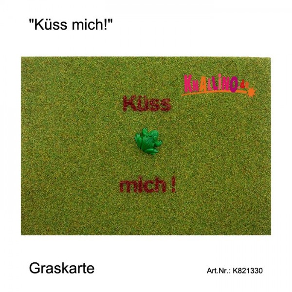 Küss mich! Graskarte