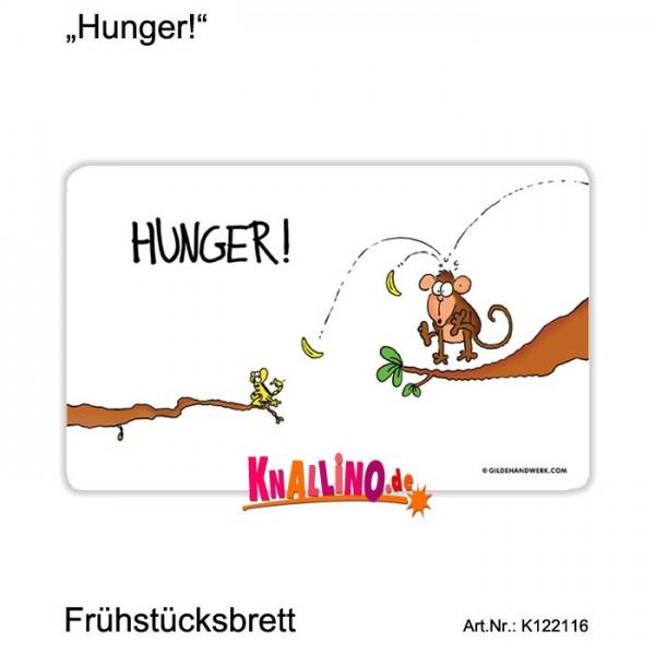 Hunger! Frühstücksbrett