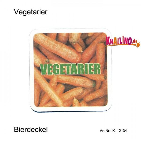 Vegetarier - Mein Lieblingsgemüse heißt Bier Bierdeckel