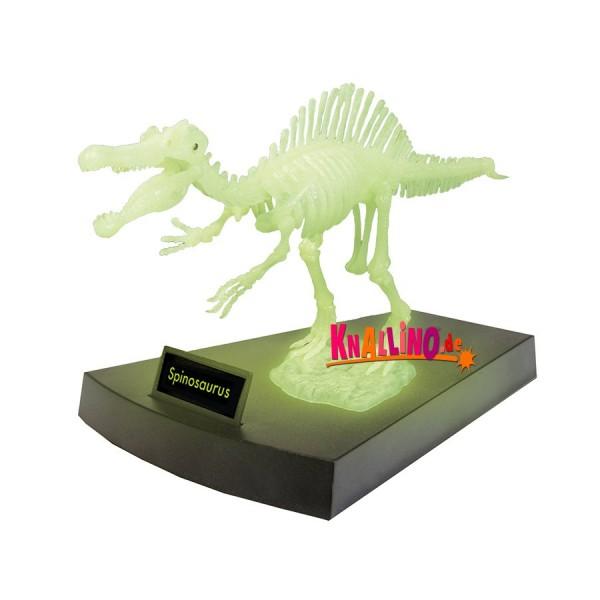 Geoworld Jurassic Night Spinosaurus-Skelett phosphoreszierendes Dinoskelett