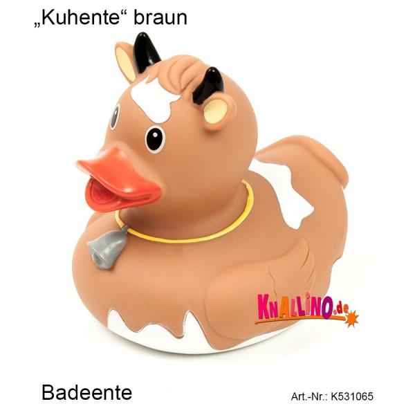 Kuhente braun Badeente
