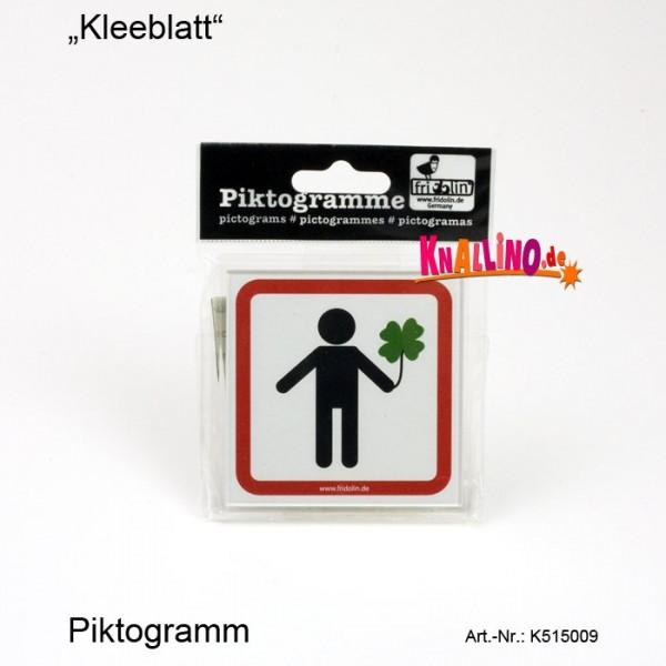 Kleeblatt Piktogramm