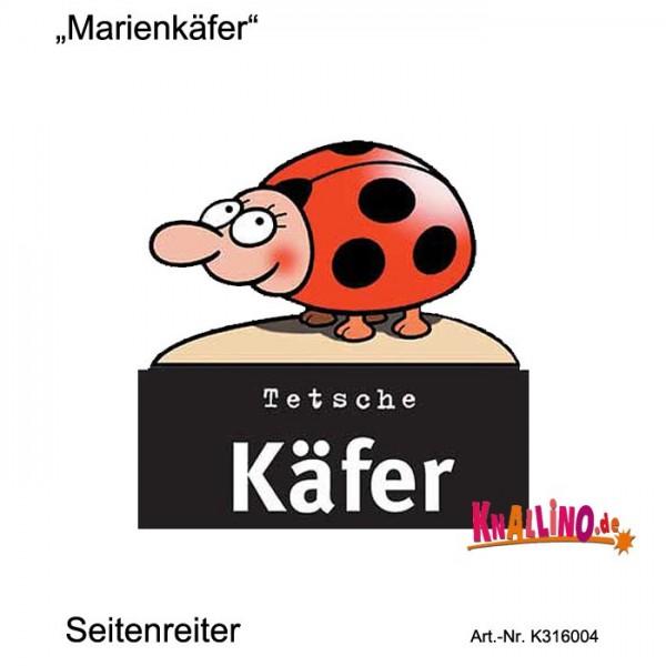Marienkäfer Seitenreiter Lesezeichen