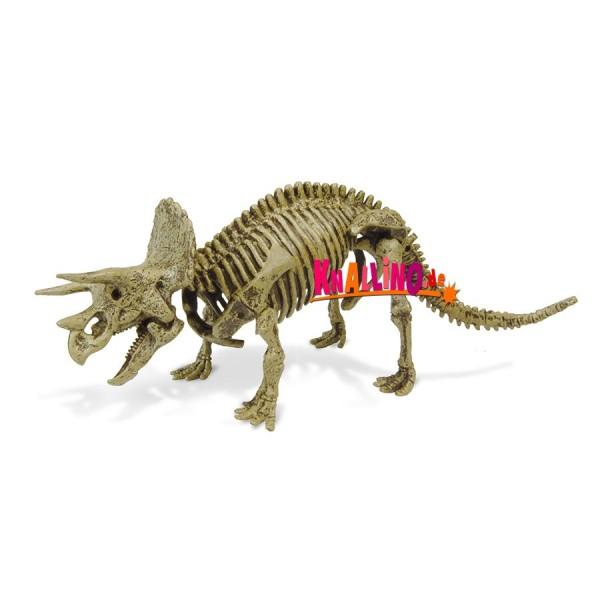 Geoworld Jurassic Eggs Triceratops Dinoskelett zum Zusammenbauen