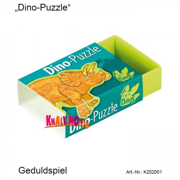 Moses Dino-Puzzle Geduldspiel