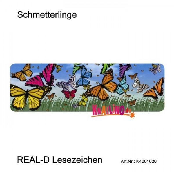 Schmetterlinge REAL-D Lesezeichen
