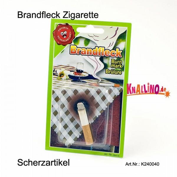 Brandfleck Zigarette Scherzartikel
