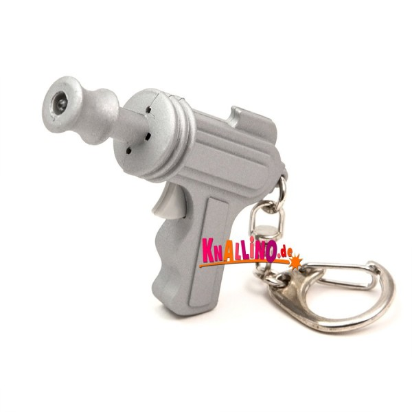 Kikkerland Space Gun Laserpistole LED Schlüsselanhänger 2016