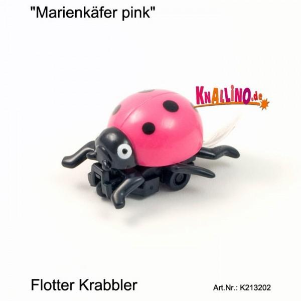 Marienkäfer pink mit Rückziehmotor