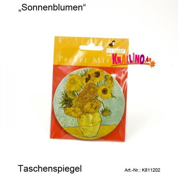 Sonnenblumen Taschenspiegel