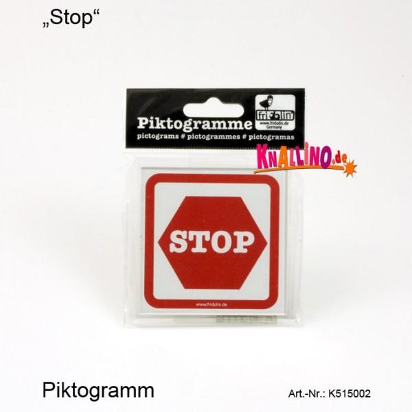Stop Piktogramm