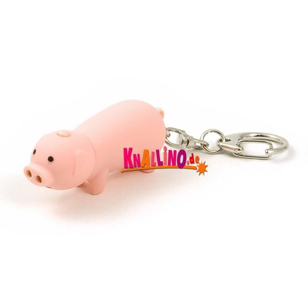 Kikkerland Schwein LED Schlüsselanhänger 2016