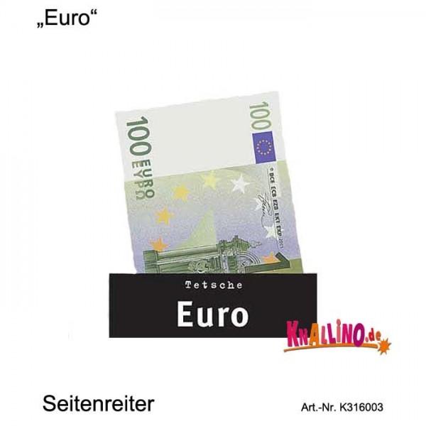 Euro Seitenreiter Lesezeichen