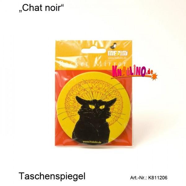 Chat noir Taschenspiegel