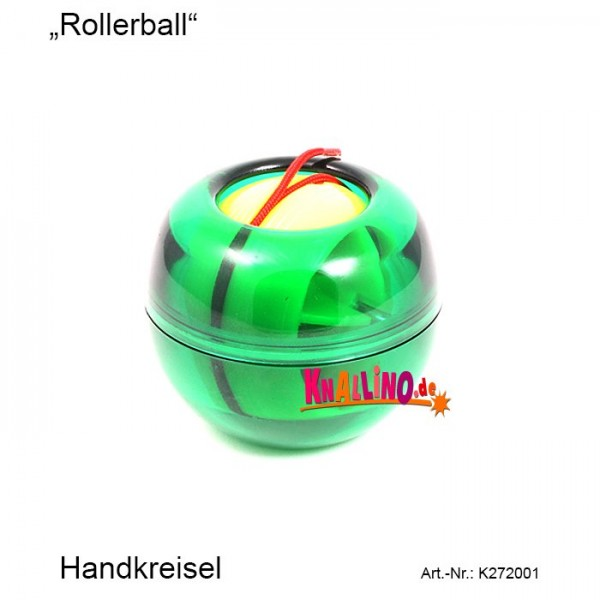 Roller Ball Handkreisel
