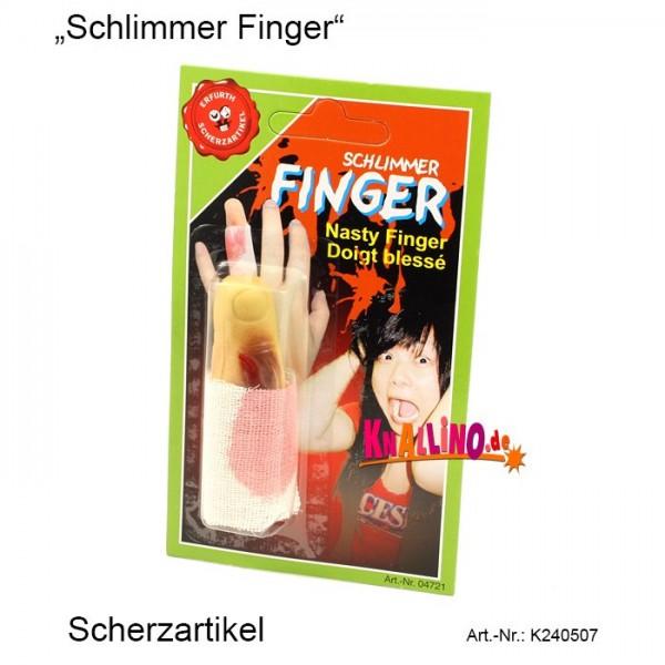 Schlimmer Finger Scherzartikel