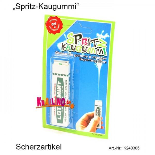 Spritz-Kaugummi Scherzartikel
